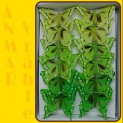 Motýľ 8cm Zelený 316965