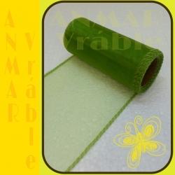 Organza 12cm Zelená