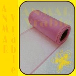 Organza 12cm Ružová svetlá