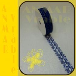 Azúrová stuha 3cm Modrá