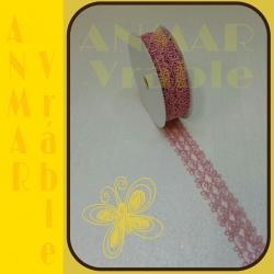Azúrová stuha 3cm Ružová