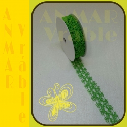 Azúrová stuha 3cm Zelená