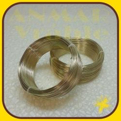 Drôt ring 500g Zlatá R13