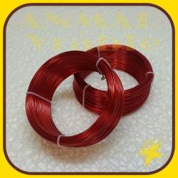 Drôt ring 500g Červená R5