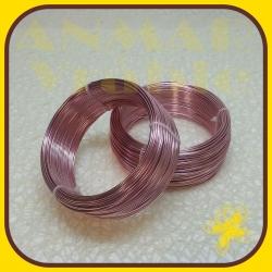 Drôt ring 500g Ružová R6