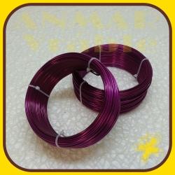 Drôt ring 500g Cyklamenová R12