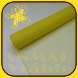 Plastová sieťka 53cm Žltá