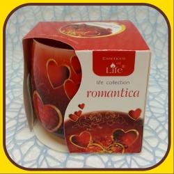 Aromatické sviečky 100g Romantica