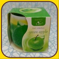 Aromatické sviečky 100g Green apple
