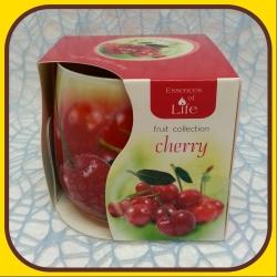 Aromatické sviečky 100g Cherry