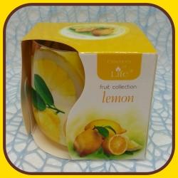 Aromatické sviečky 100g Lemon