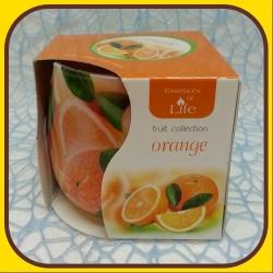 Aromatické sviečky 100g Orange
