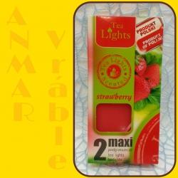 Aromatické sviečky 100g Strawberry