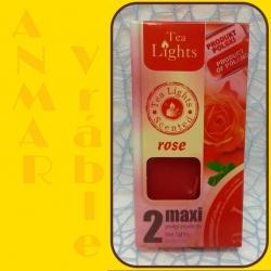 Aromatické sviečky 100g Rose