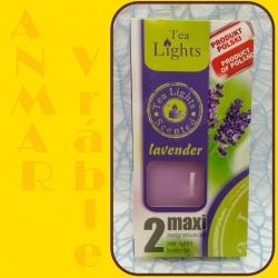 Aromatické sviečky 100g Lavender