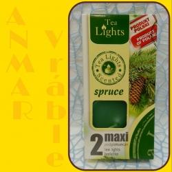 Aromatické sviečky 100g Spruce