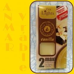 Aromatické sviečky 100g Vanilla