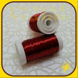 Drôt návin hladký Červená H5