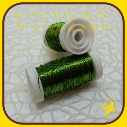 Drôt návin hladký Zelená H7
