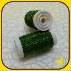 Drôt návin krepovaný Zelená K7