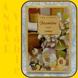 Čajová sviečka 6ks Jazmín