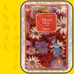 Čajová sviečka 6ks Kvetinový Obchod