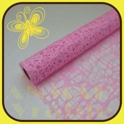 Sieť sisal plastová 53cm Ružová