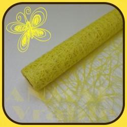 Sieť sisal plastová 53cm Žltá