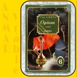 Čajová sviečka 6ks Ópium