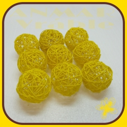 Latta ball 8cm Žltá 3
