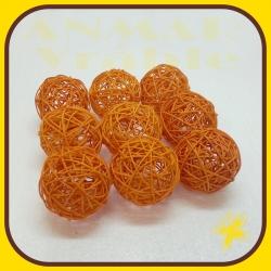 Latta ball 8cm Oranžová