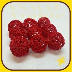 Latta ball 8cm Červená
