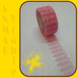 Plot stuha 5cm Ružová