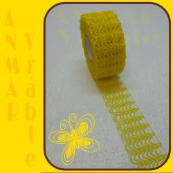 Plot stuha 5cm Žltá