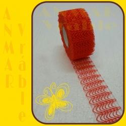 Plot stuha 5cm Oranžová