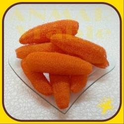 Luffa 10ks Oranžová