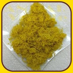 Curly moss 100g Žltá