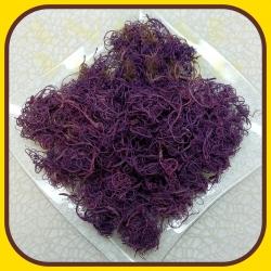 Curly moss 100g Fialová