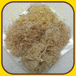 Curly moss 250g Biela