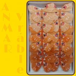 Motýľ 12cm 287415 Oranžová