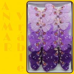 Motýľ 12cm 287415 Fialová