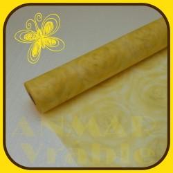Vlizelín vzor 50cm Žltá