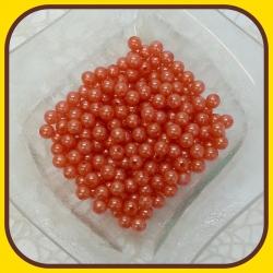 Perly 8mm Oranžová