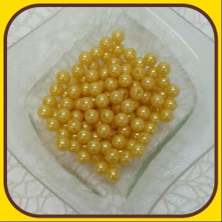 Perly 10mm Žltá svetlá