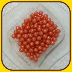 Perly 10mm Oranžová