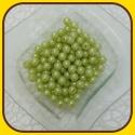 Perly 10mm Zelená