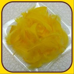 Pierka dekoračné 15g Žltá 3