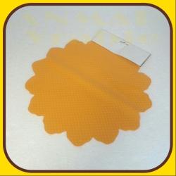 Celofán kruh 40cm Oranžová