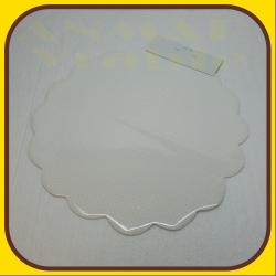 Celofán kruh 50cm Biela