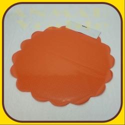 Celofán kruh 50cm Oranžová